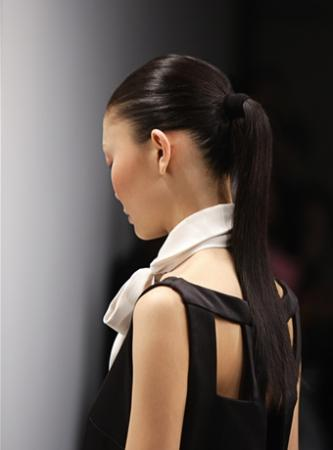 Ponytails can be a girl's best friend on a bad hair day.
