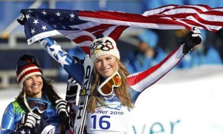 Brilliant Lindsey Vonn